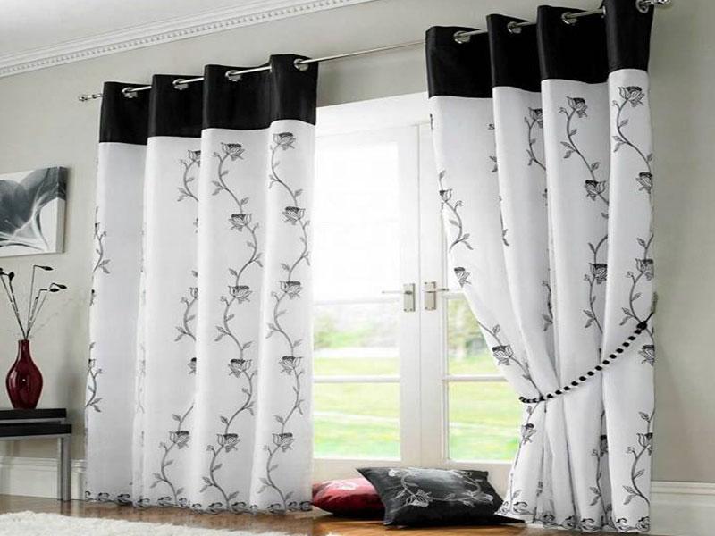 Cortinas elegantes y modernas affordable escalera gris for Cortinas elegantes para sala