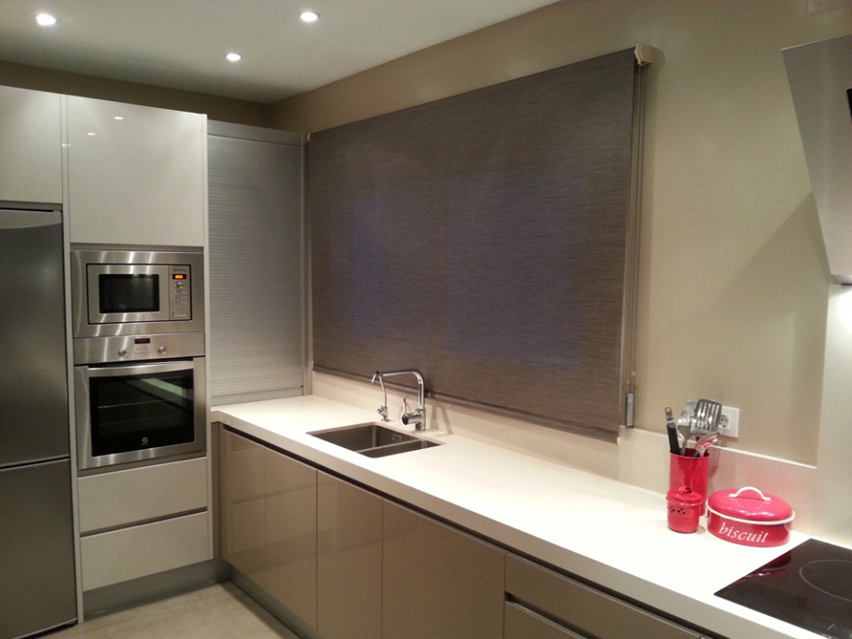 Cortinas screen cocina cortina de cocina ristreto with - Cortinas screen cocina ...