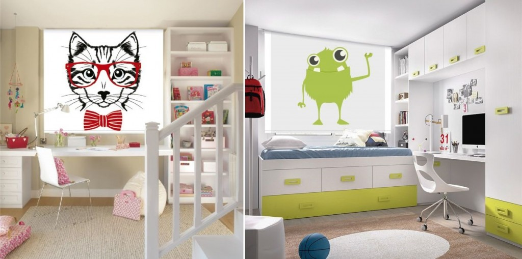 Ideas de cortinas screen juveniles para habitaciones - ScreenVogue ...