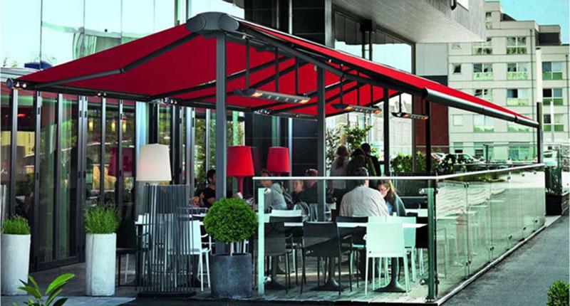 Mejorar La Terraza De Un Restaurante Con Un Toldo Screen