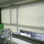 Protección solar con estores screen