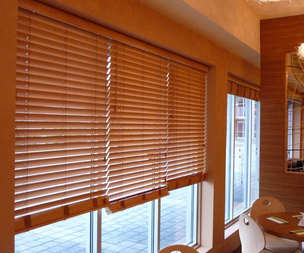 decoraci n con persianas de madera screenvogue screens